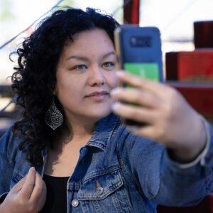 Helena selfie Visibilitas c MevrYan